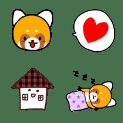 Emoji  of cute raccoon