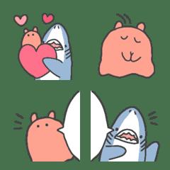 SHARK & MENDAKO kawaii ...