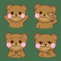 呆萌熊-表情貼