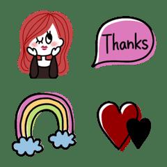 cute woman Emoji (3)