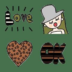 Various set emoji 118 adult cute vivid
