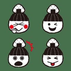 Rice ball(onigiri) sue Emoji