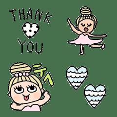 Various set emoji 119 adult cute vivid