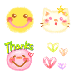 Picture in watercolors Emoji