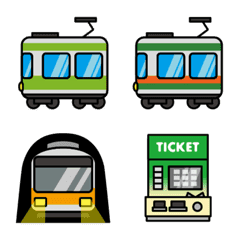 Metropolitan area trains &a...