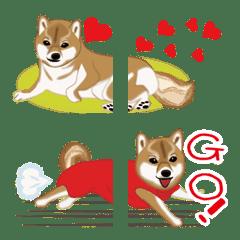 อิโมจิไลน์ Shiba Inu chimaki