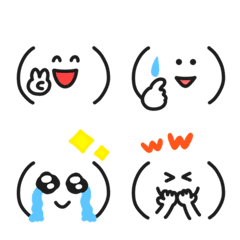 Emoticons always available