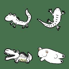 white animal