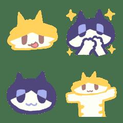 Mochimochi brown cat - Emoji