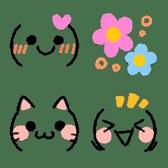 Cute gentle Colored Pencil SNS Emoji2