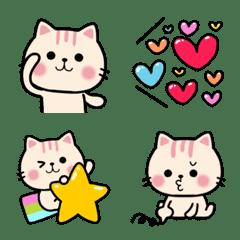 Cute Cat Speech Bubble Nekunya Emoji