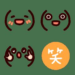I tend to use it simply.Emoji.2