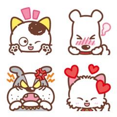 Tama and Friends Emoji