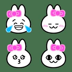 Usable rabbit face Emoji 2.