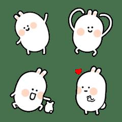 Super cute white rabbit