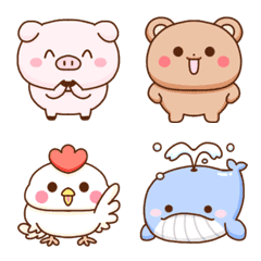 -Simple animal emoji-