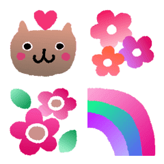 อิโมจิไลน์ Gradation emoji 1