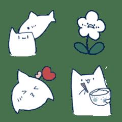 shark and cat Emoji