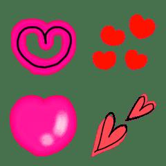 อิโมจิไลน์ Full of hearts