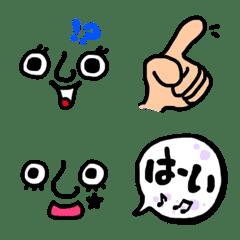 อิโมจิไลน์ This is usable Emoji