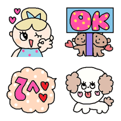 Various emoji 200 adult cute simple
