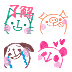 MARUNEKO & Friends Emoji 3