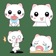 Miki the cat emoji 2