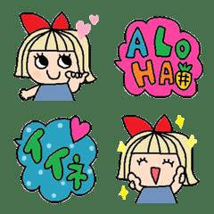 Various emoji 210 adult cute simple