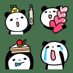 a graffiti panda Emoji 7
