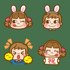 อิโมจิไลน์ Enjoy Happy Spring! PEKO's Emoji