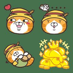 白爛貓☆表情貼☆第3彈:森林物語篇