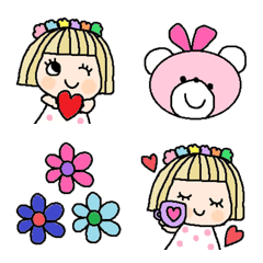 Various emoji 276 adult cute simple