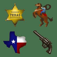 TEXAS AMERICAN emoji