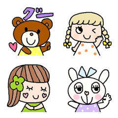 Various emoji 282adult cute simple
