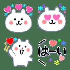 Scandinavian rabbit Emoji.