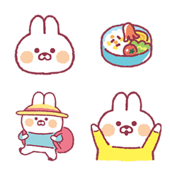 Muu-chan bunny Emoji