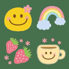 Spring cute smiley Emoji