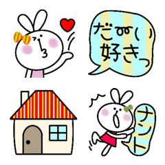 oshakawasutoraipuemojitousagichan