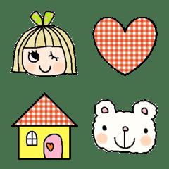 Various emoji 292adult cute simple