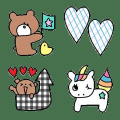 Various emoji 293adult cute simple