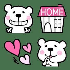 อิโมจิไลน์ Emoji of Kumasuke - every day together