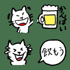 """อิโมจิไลน์ """"Nomisuke-meow"""" emoji"""