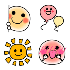 Cute Smile Simple () inside Emoji