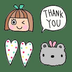 Various emoji 295adult cute...