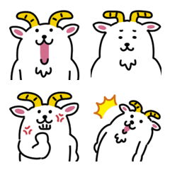 Loose goat Emoji