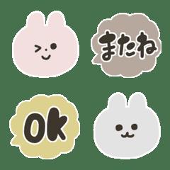 Bunnies speak Japanese