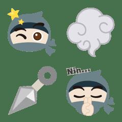 Happy NINJYA Emoji