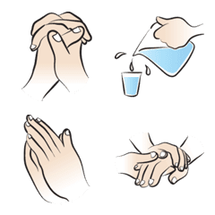 cartoon hand talk2