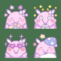 อิโมจิไลน์ Dreamy and very cute anteater emoji