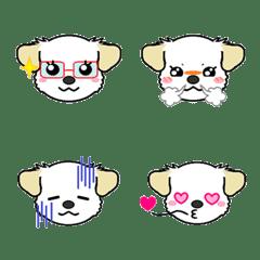 อิโมจิไลน์ Puppy Emoji(dog)